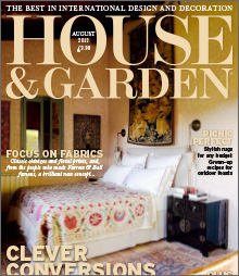 House and Garden August 2012