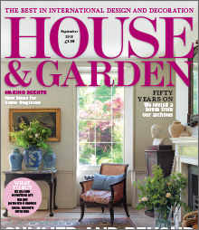 House and Garden September 2013