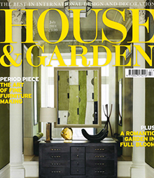 House and Garden July 2014